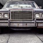 an old royal car